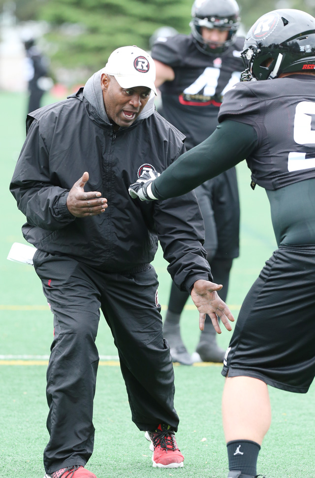 Fear of the unknown? Leroy Blugh doesn't look at that way. We continue our positional breakdowns by looking at the defensive line.