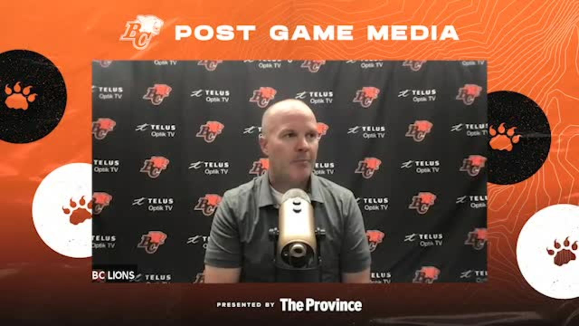 Post Game Aug 12 | Coach Campbell