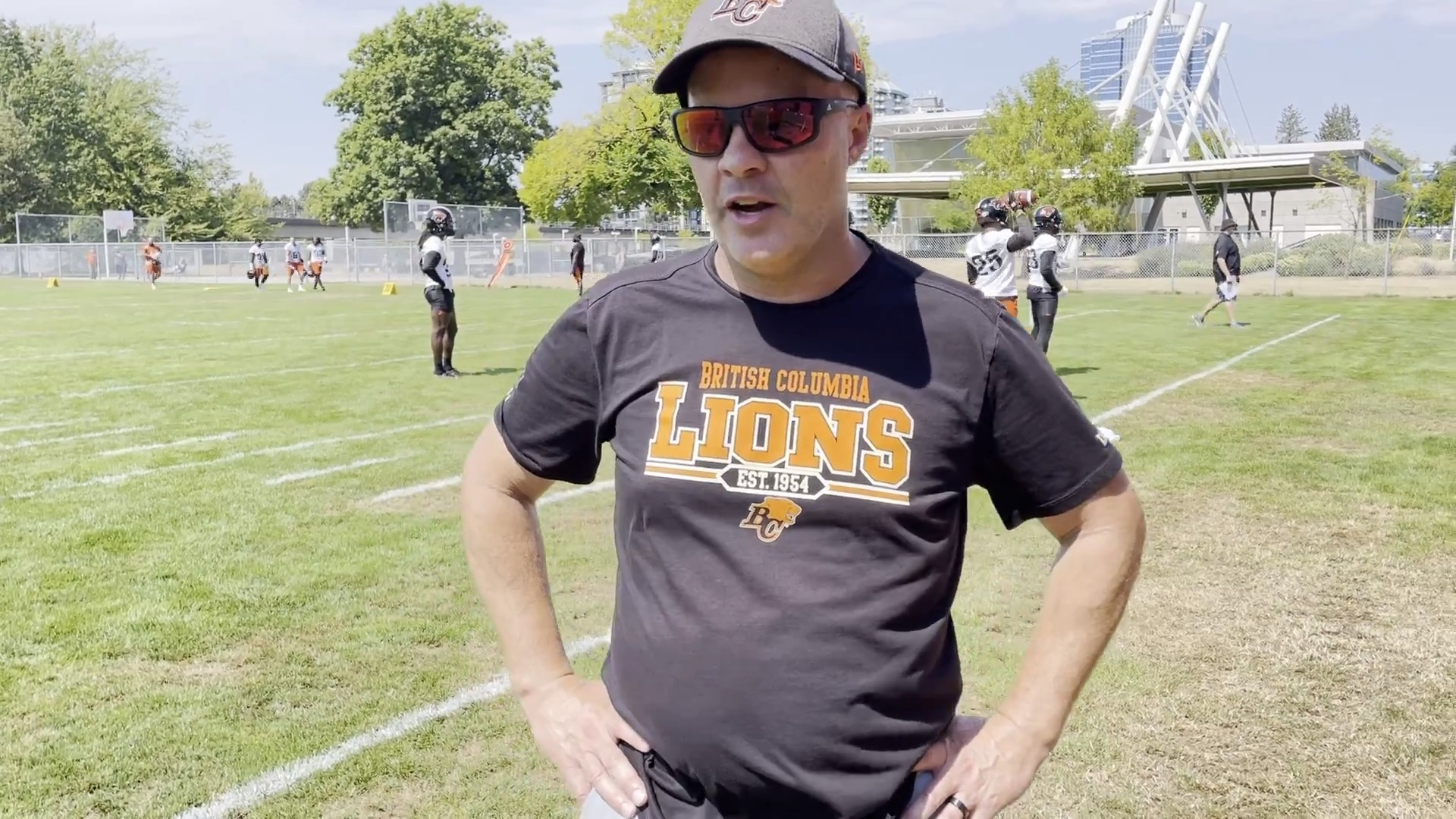 Post-Practice August 15 | Rick Campbell