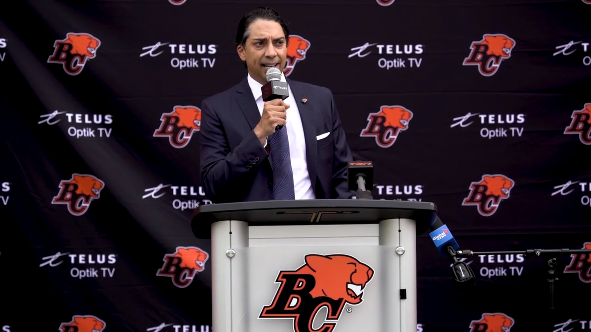 Press Conference | New BC Lions Owner Amar Doman