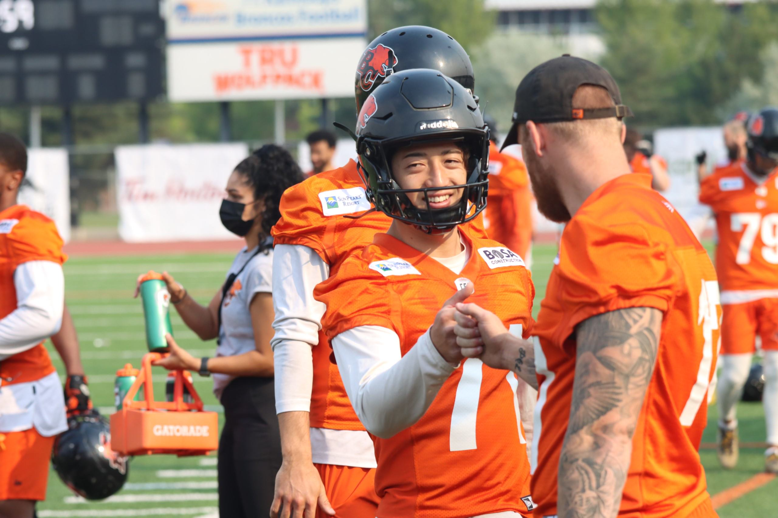 Takeru Yamasaki is excited to begin his pro chapter with the Lions and takes pride in being one of the first Japanese players to play in the CFL.