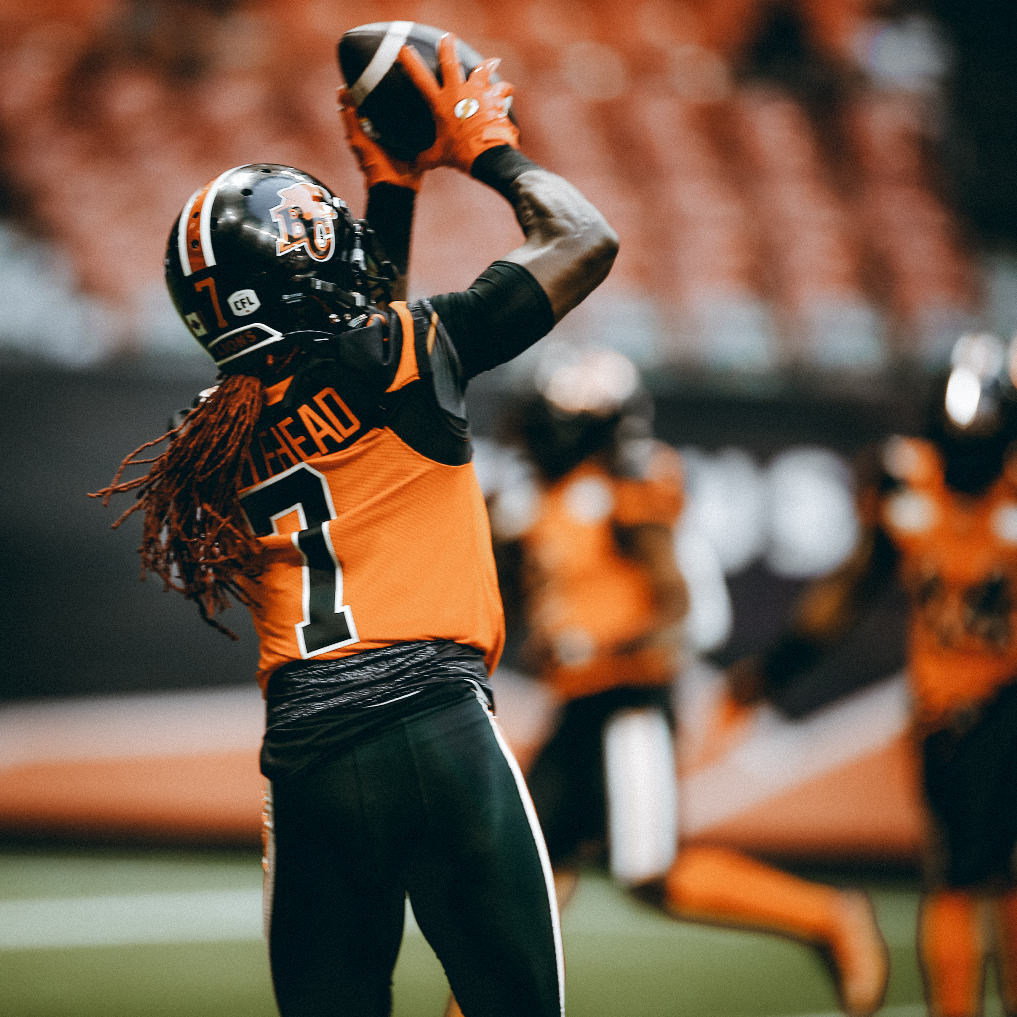 Lions receiver Lucky Whitehead has demonstrated the ability to strike fast at any given time. No different than some of his favourite wild animals.