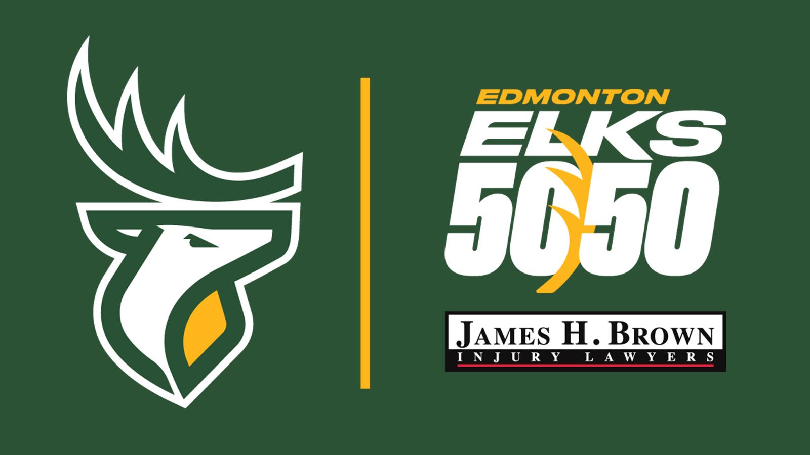 Elks 50/50 Presented By James H. Brown Injury Lawyers