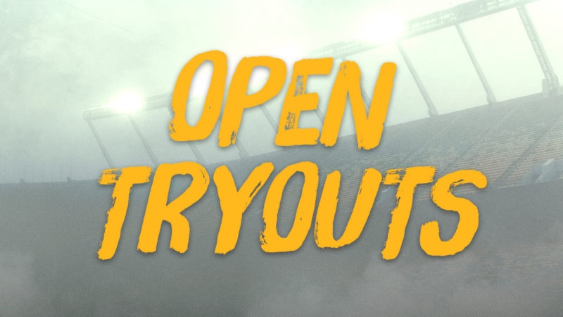 Eskimos Open Try Outs