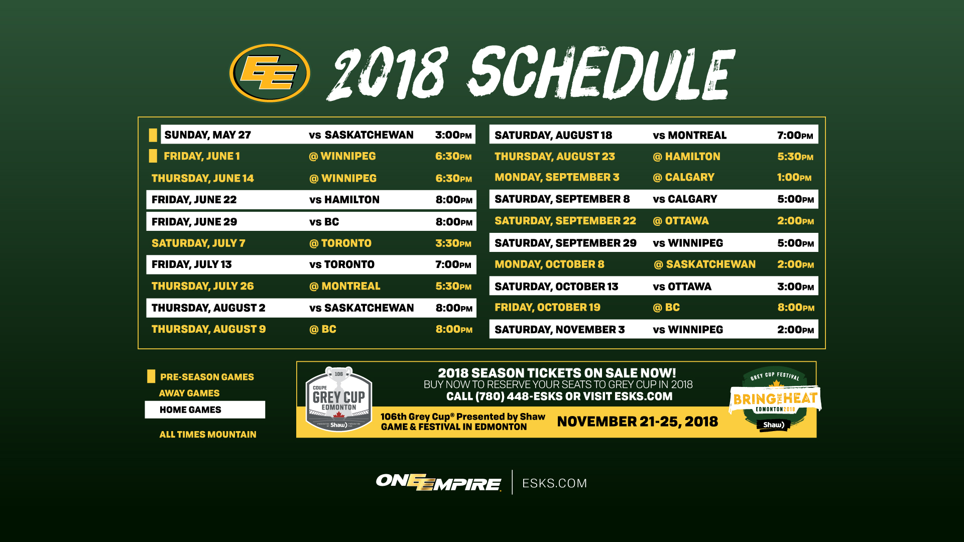 Telus Calendar Wallpaper : Wallpaper wednesday edmonton eskimos