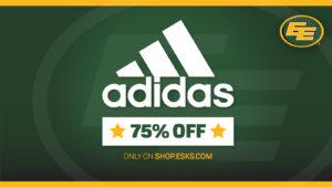75% All Adidas Merch