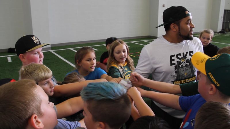 Eskimos Community Tour Presented By Syncrude