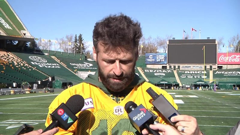 Post Practice: QB Mike Reilly