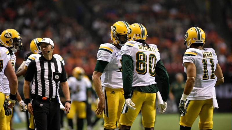 Eskimos' Playoff Hopes Rest With Stampeders