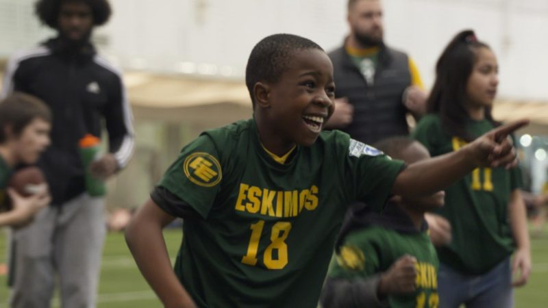 Eskimos Team Up With Free Footie