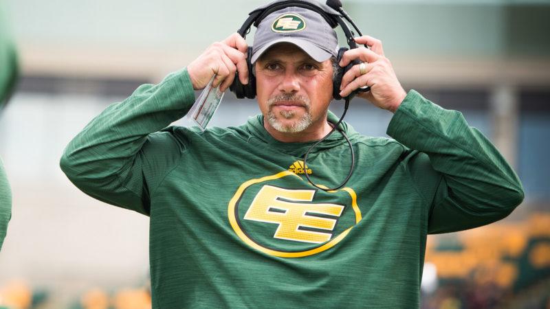 Eskimos Coaching Announcement