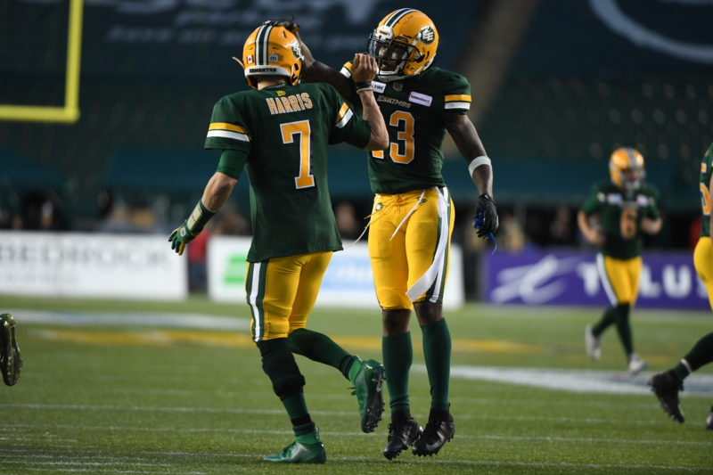 Offence Totals 607 Yards As Eskimos Win Season-Opener