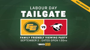 Labour Day Tailgate