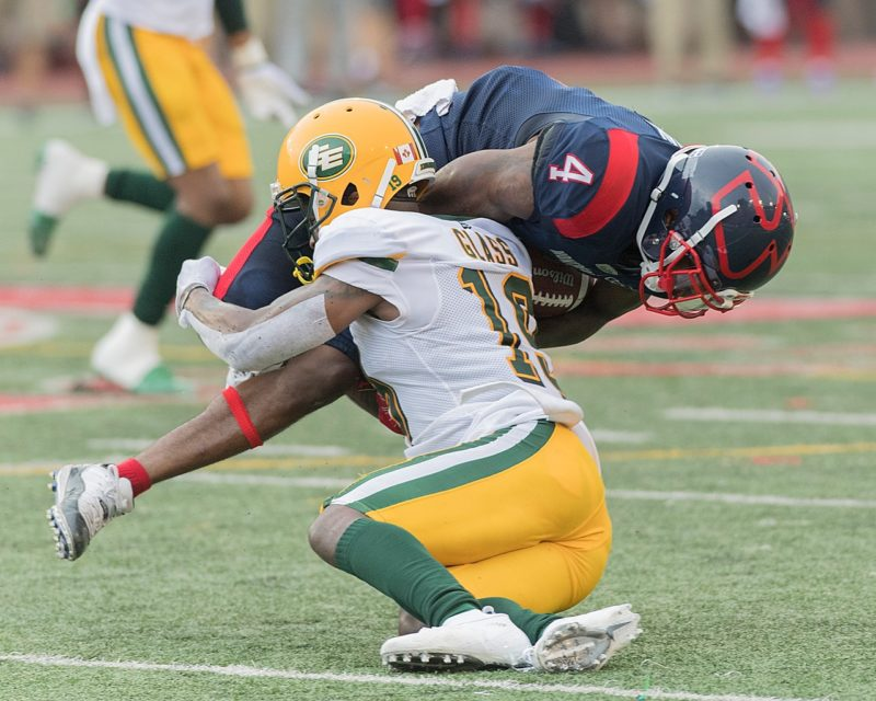 Eskimos Stumble Against Surging Alouettes