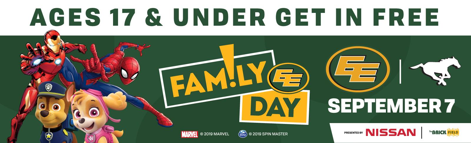 FREE Pre-Game Family Fun Zone - Edmonton Eskimos