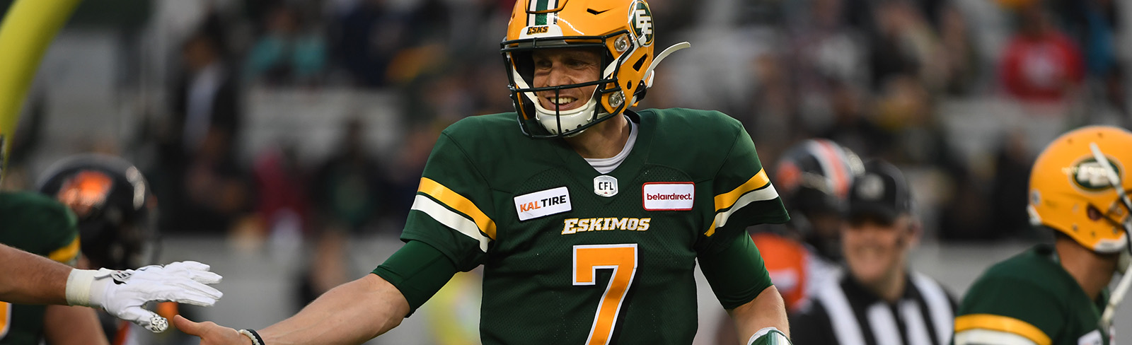 Eskimos Activate Trevor Harris From Six-Game Injured List - Edmonton Eskimos