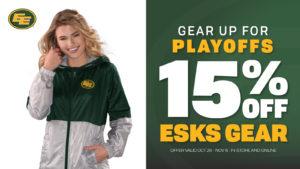 15% Off Eskimos Merch!