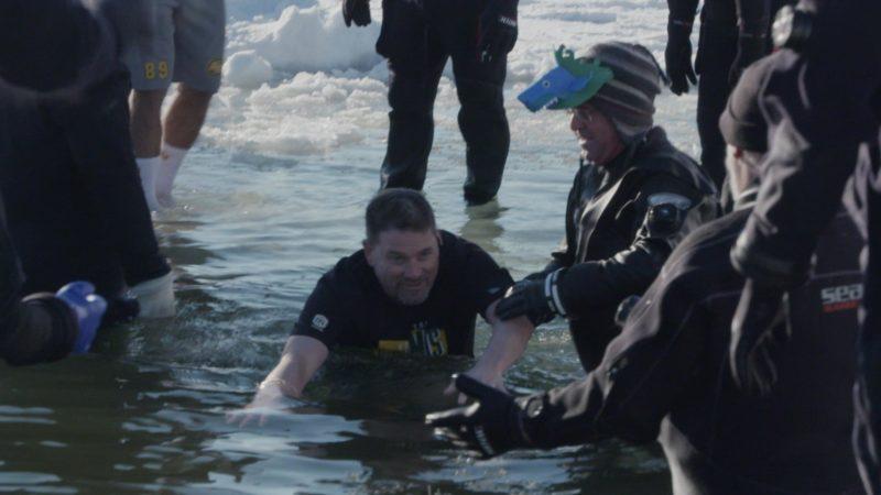 Esks Take Part In Polar Plunge