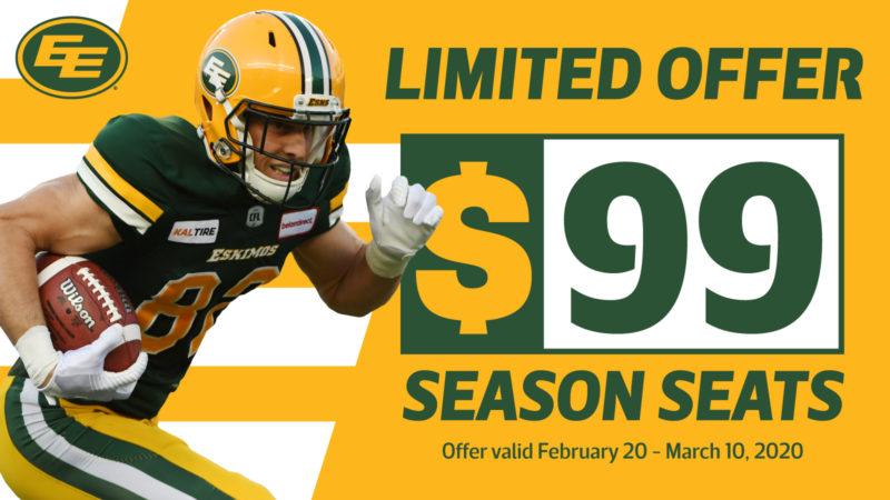 Season Seats Just $9/Bi-Weekly (Seriously!)