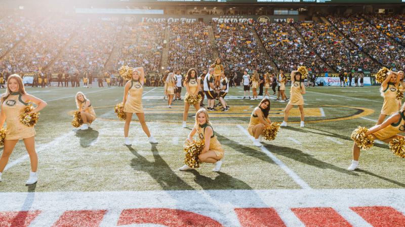 The 2020 Edmonton Eskimos Cheer Team Roster