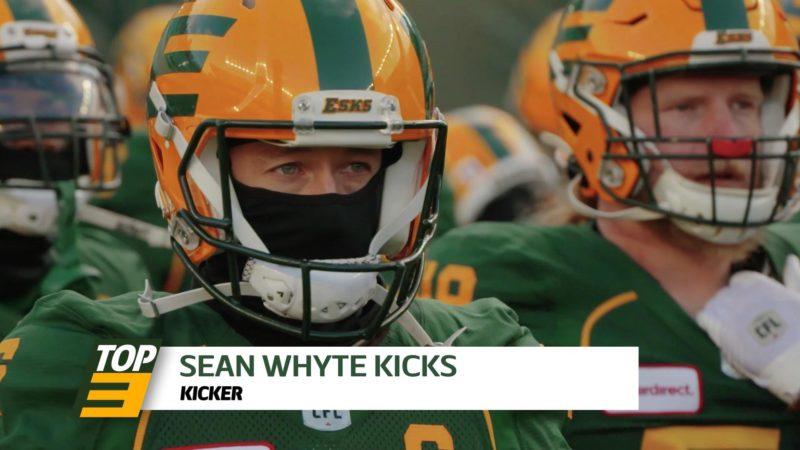 Top 3: K Sean Whyte