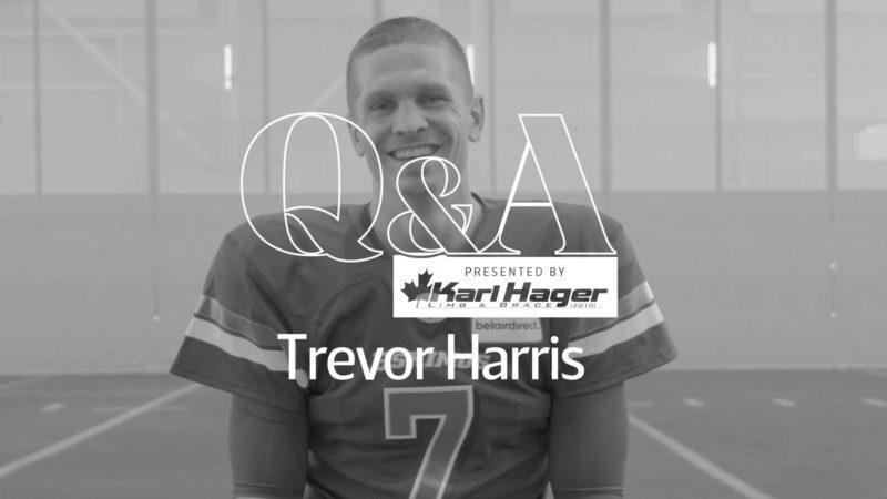 Karl Hager Q&A With QB Trevor Harris