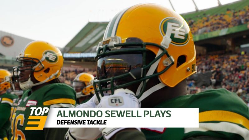 Top 3: DT Almondo Sewell