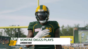 Top 3: LB Vontae Diggs