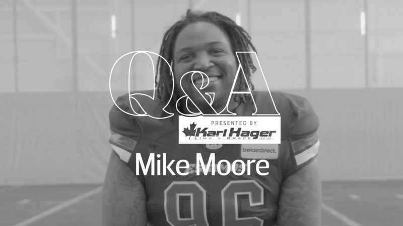 Karl Hager Q&A With DT Mike Moore