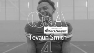 Karl Hager Q&A With Tevaun Smith