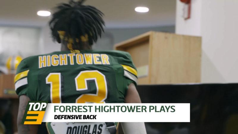 Top 3: DB Forrest Hightower