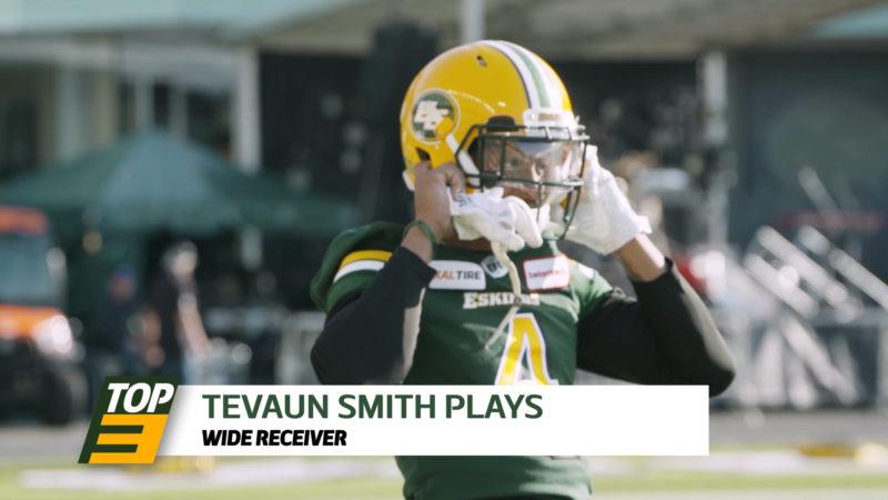 Top 3: WR Tevaun Smith