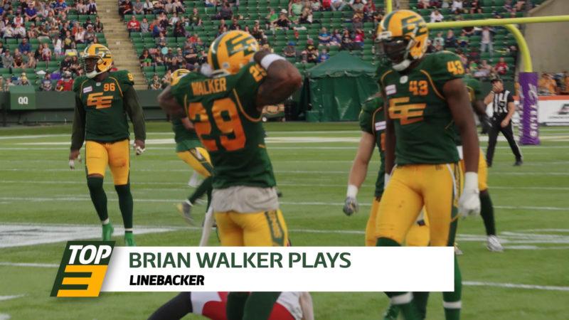 Top 3: LB Brian Walker