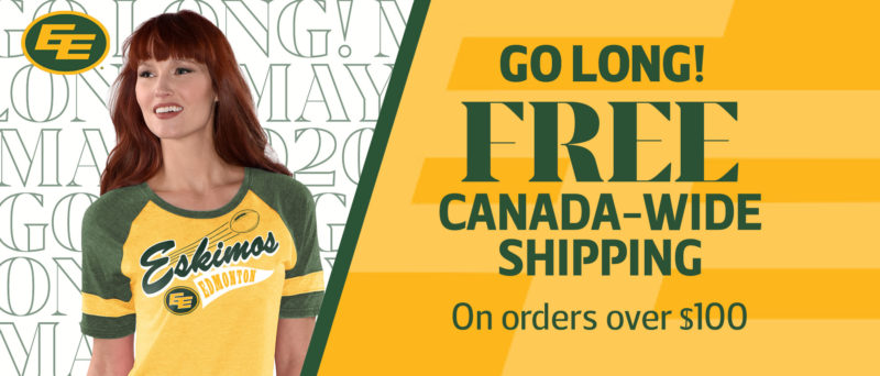 FREE Canada Wide Shipping All May Long!