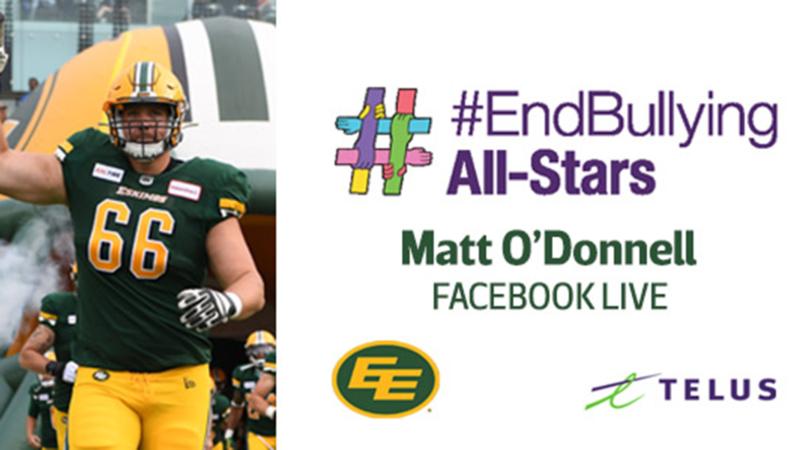 #Endbullying online workshop with OL Matt O'Donnell