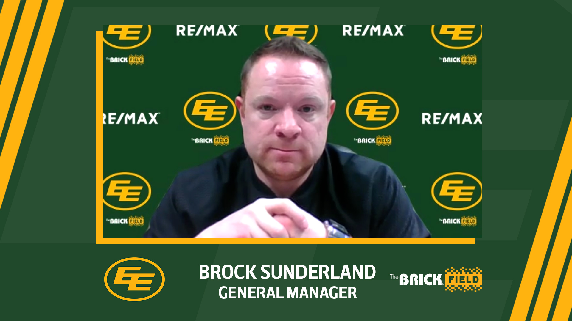 GM/VP Brock Sunderland Talks About the 2021 CFL Draft