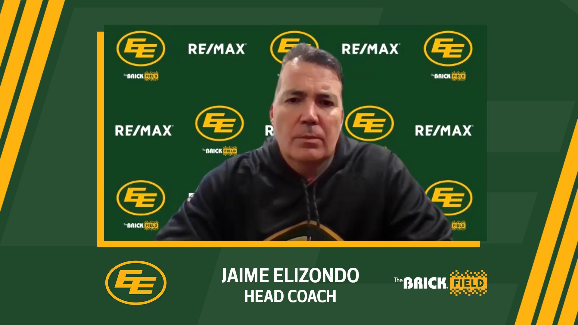 Head Coach Jaime Elizondo Talks Draft