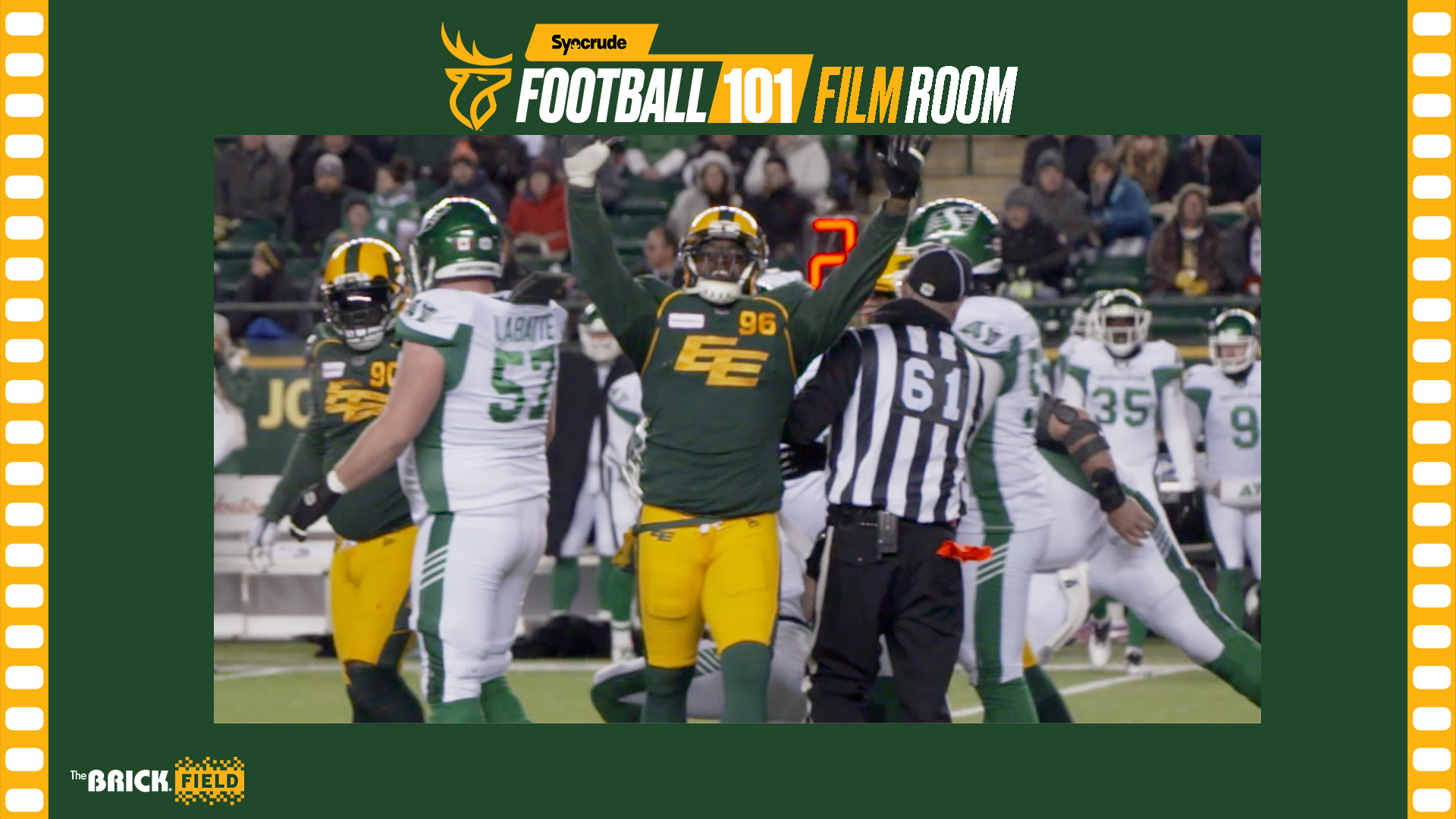 Syncrude Football 101 Film Room: DT Mike Moore