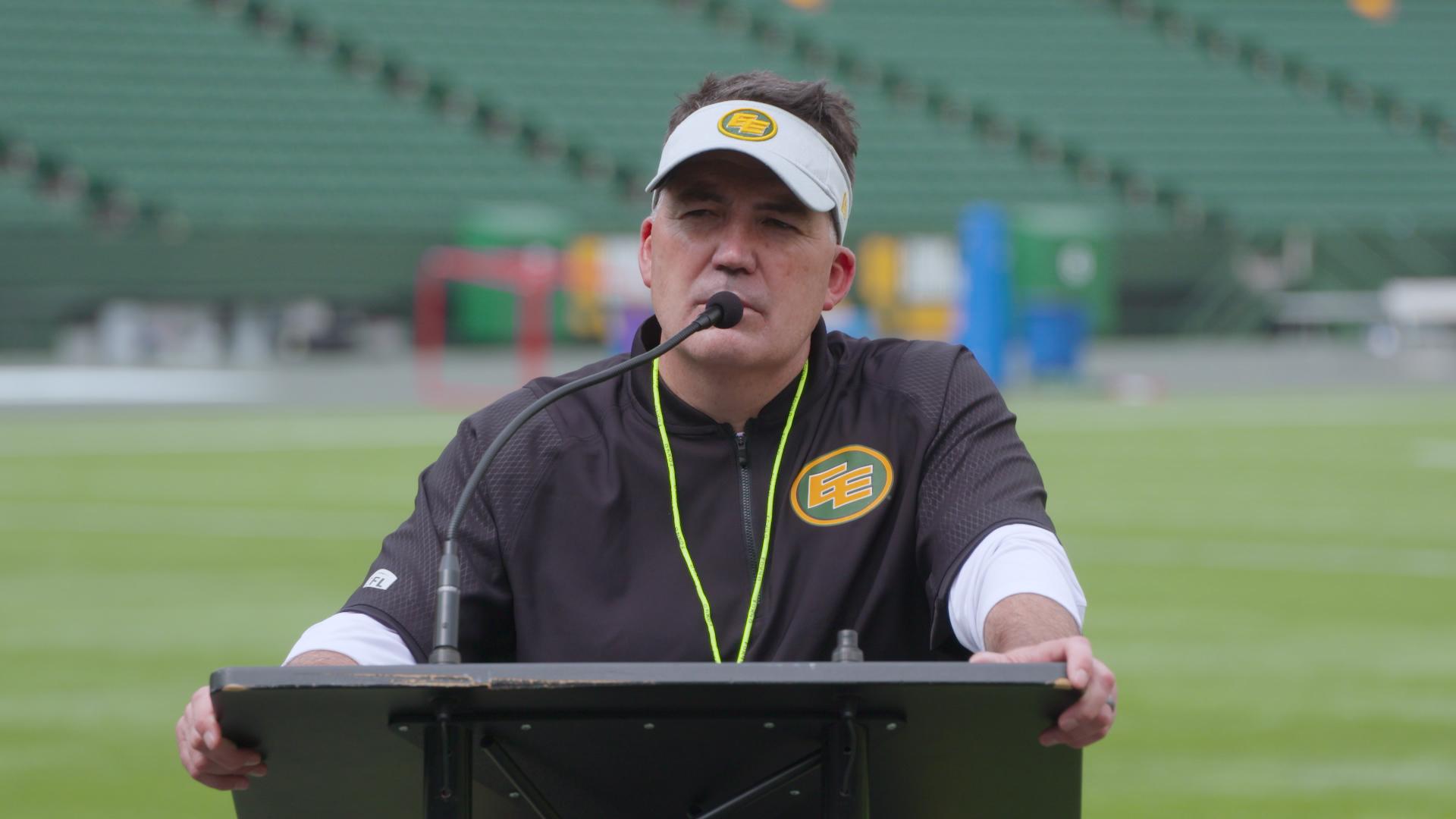 Post Practice: Head Coach Jaime Elizondo