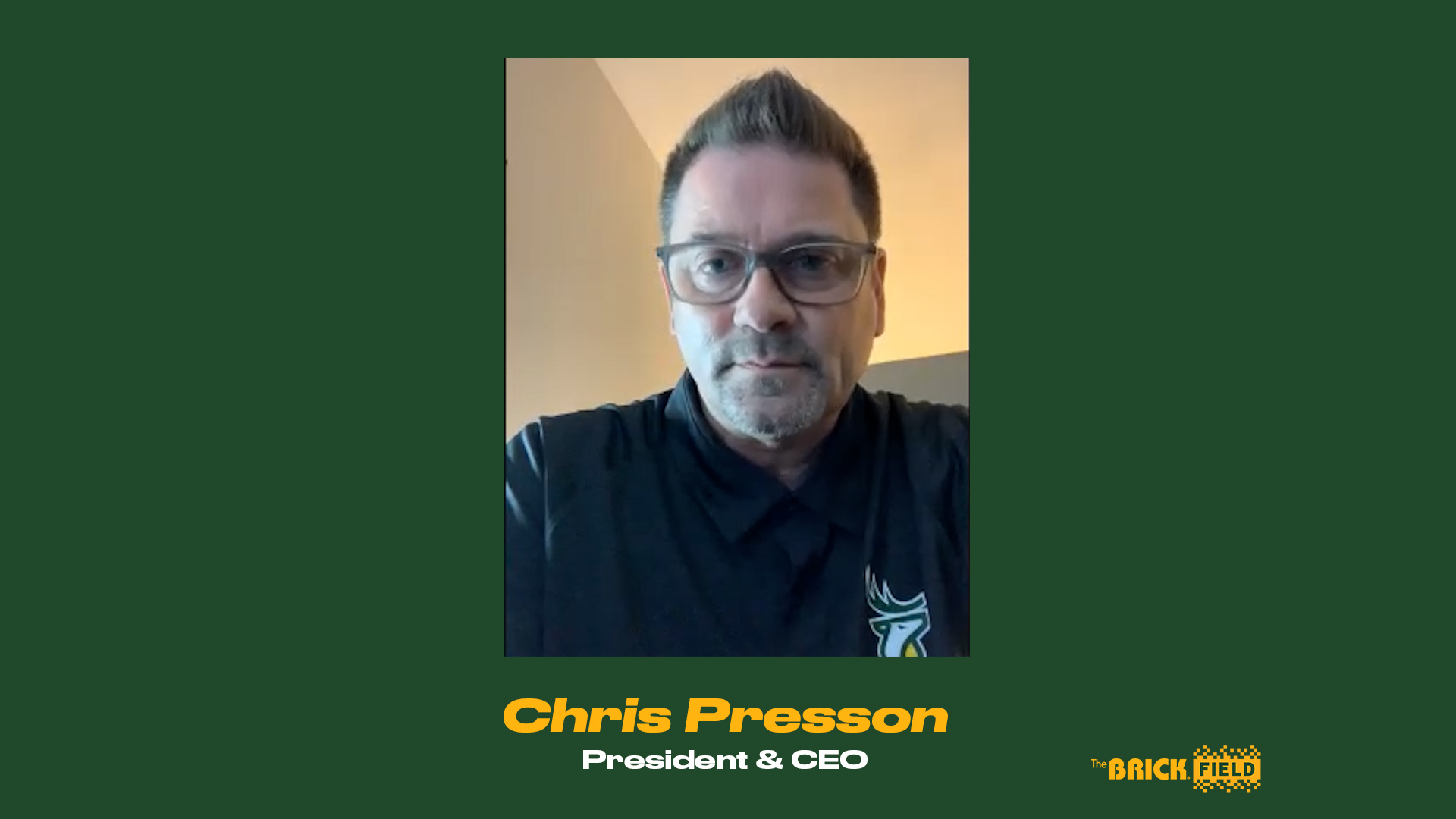 President & CEO Chris Presson Provides Update