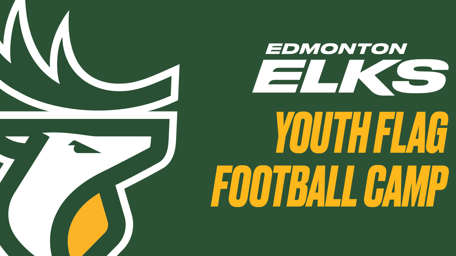 Elks Youth Flag Football Camp