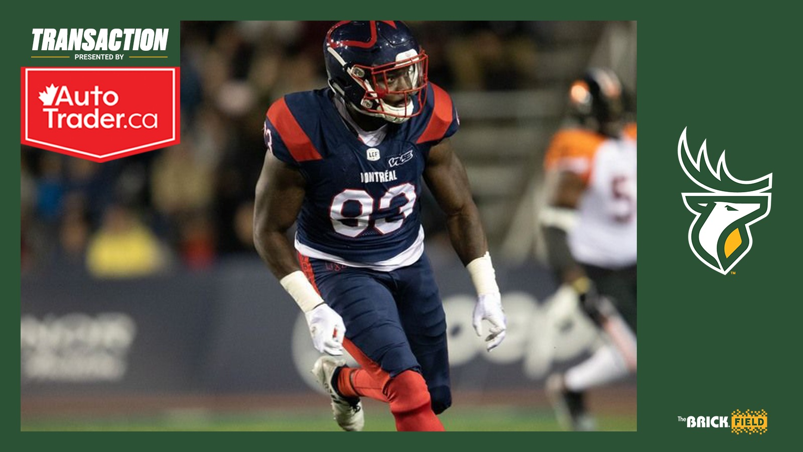 Elks acquire DL Simmons from Montreal in exchange for QB Trevor Harris