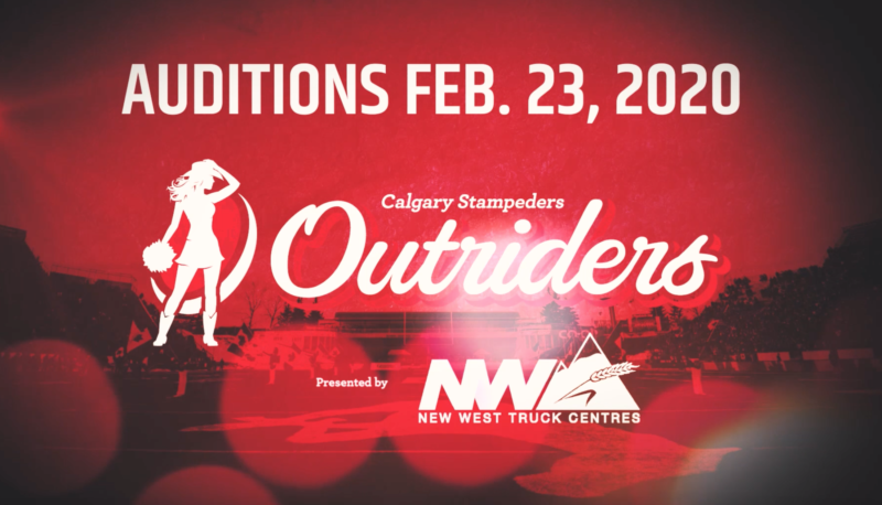 CALGARY STAMPEDERS OUTRIDERS AUDITIONS