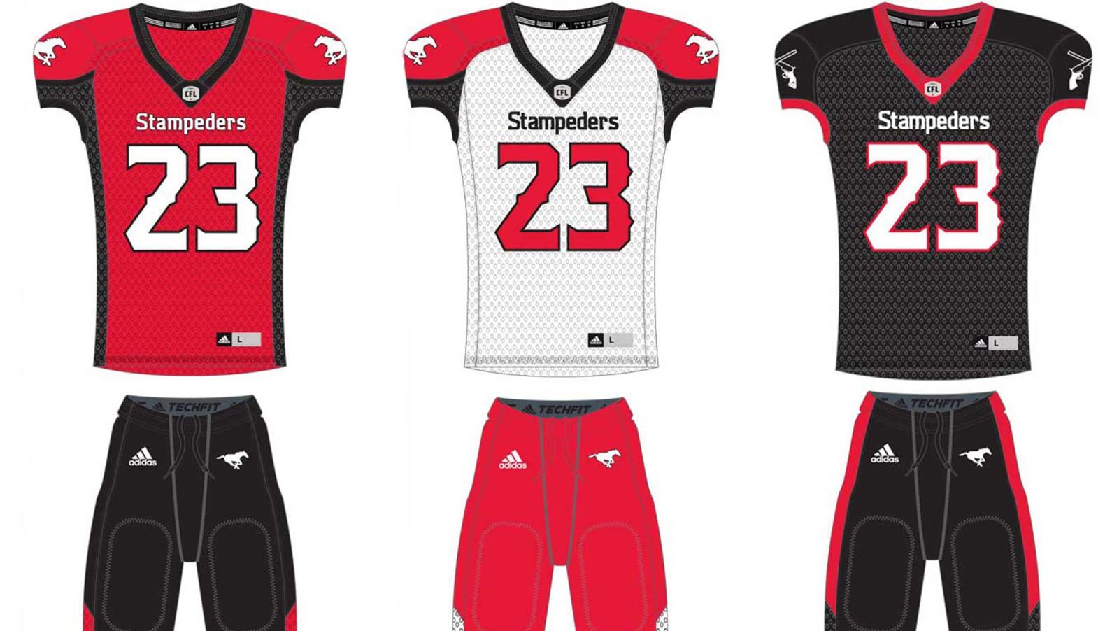 Stampeders unveil new adidas uniforms