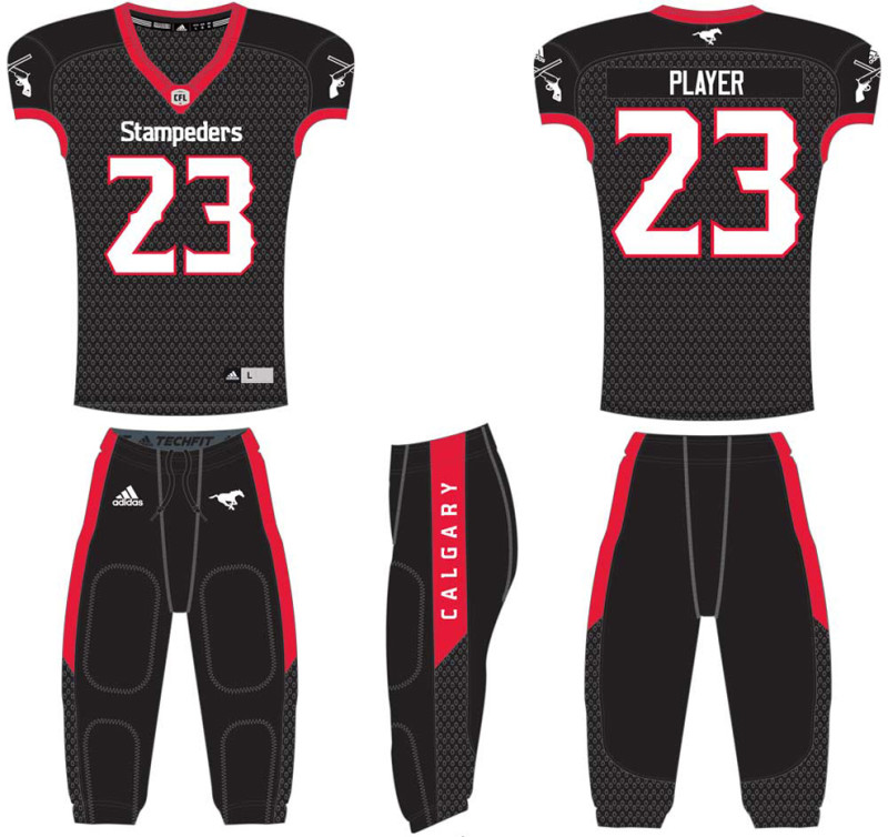 wholesale dealer 6a4c4 98194 News - All New Adidas CFL Uniforms - [Update: New Calgary ...