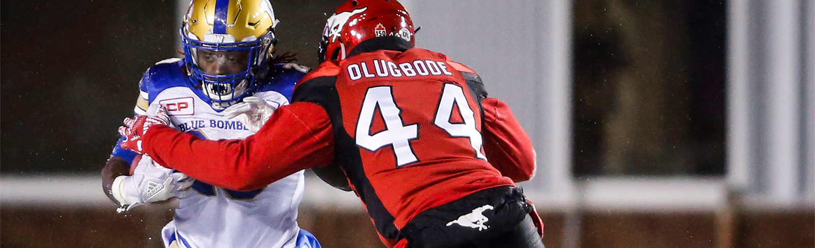 new product 8923b 5a716 Olugbode: Good to be back out there - Calgary Stampeders