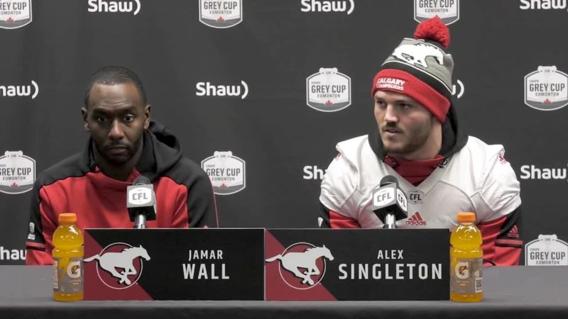 Western Final Press Conference – Jamar Wall & Alex Singleton