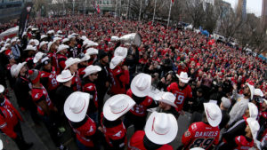GREY CUP RALLY
