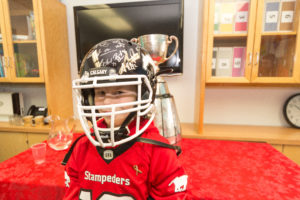 Rally For Carter – Stamps Visit Olds