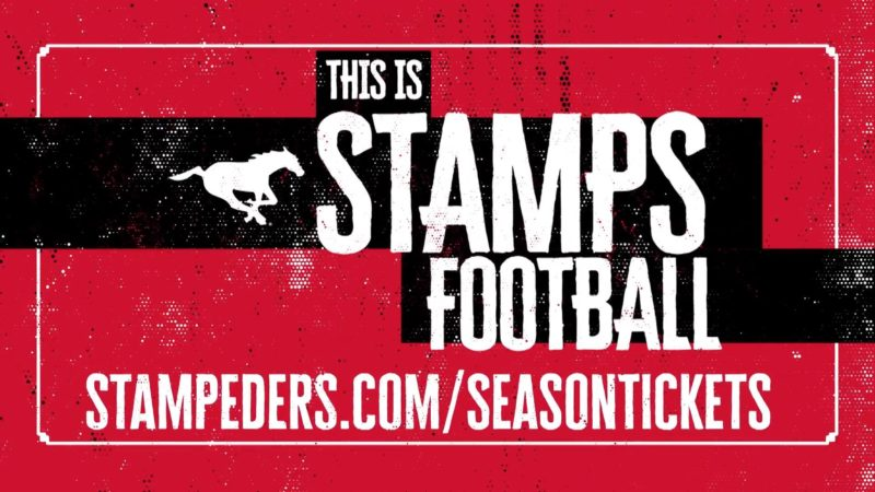 2019 Stampeders Season Tickets